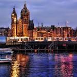 Topaz Adjust - アムステルダム中央駅