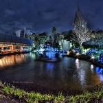 HDR - 夜景の見えるレストラン