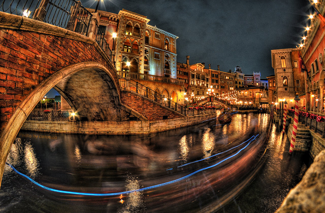 HDR - 運河の夜景
