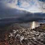 HDR - 早朝の湖畔