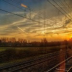 Topaz Adjust - オランダ国鉄の車窓