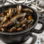 HDR-ムール貝の白ワイン蒸し(バケツ盛り)