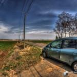 HDR-北の大地とレンタカー