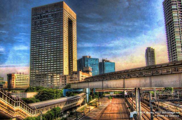 HDR - 新橋駅