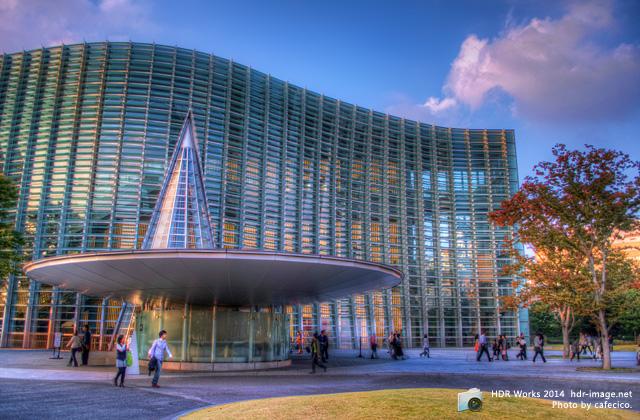 HDR国立新美術館