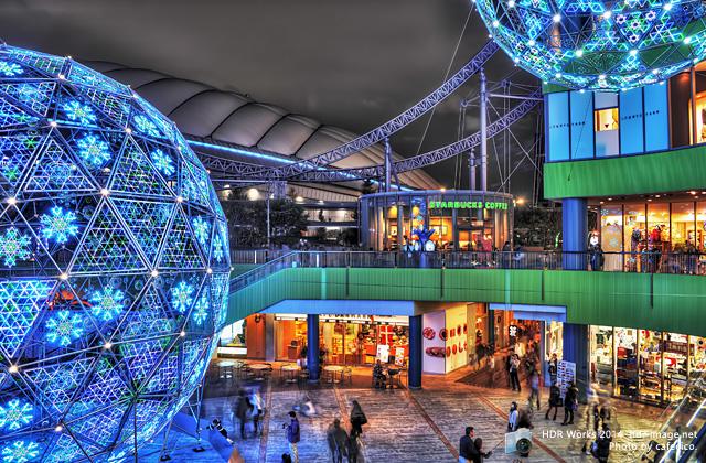 HDR-東京ドーム・ラクーア