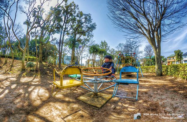 HDR春日の公園