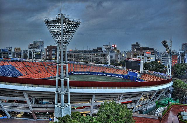 HDR - 横浜球場