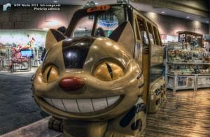 HDR-猫バス