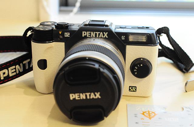 Pentax Q7で痛カメラ製作中