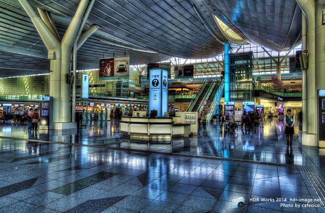 HDR羽田空港国際線ターミナル