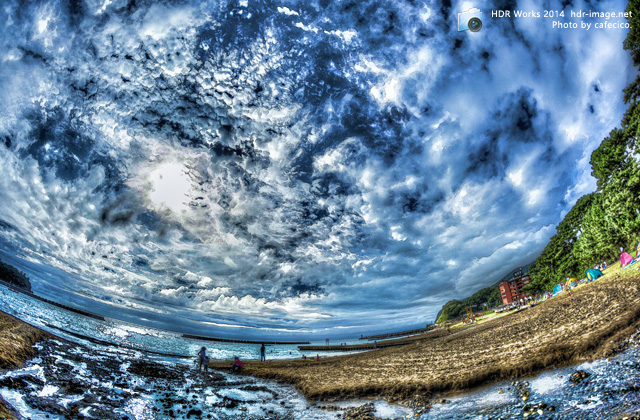 HDR土肥海水浴場