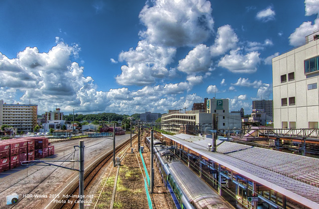 HDR土浦駅