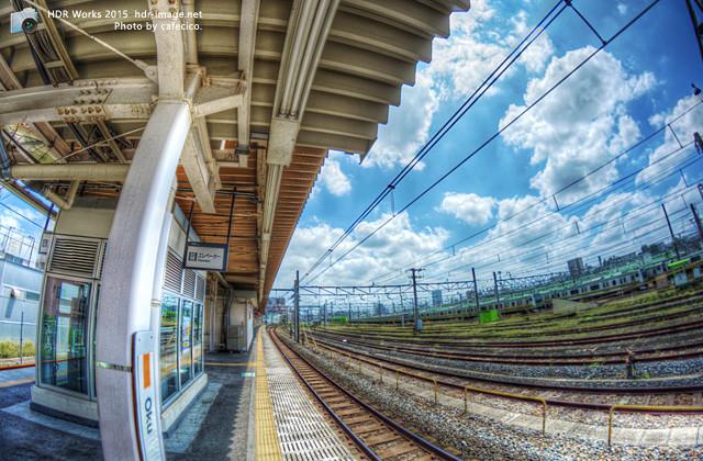 HDR尾久駅