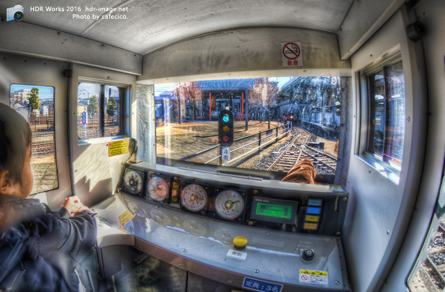 HDRミニ列車運転