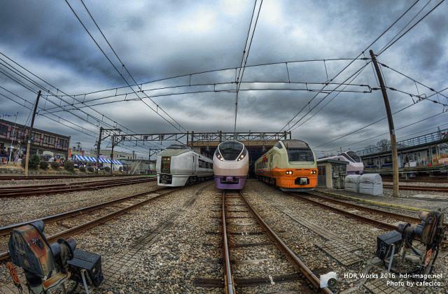 HDR電車まつり