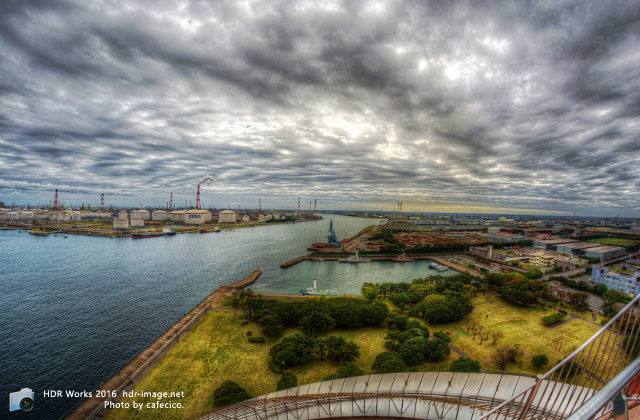 HDR-鹿島臨海工業地帯