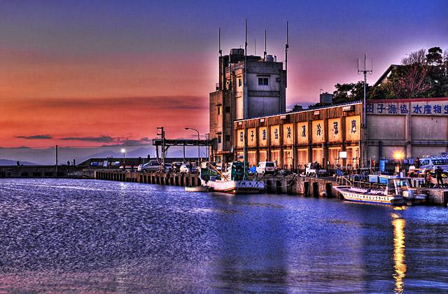 HDR - 田子漁港
